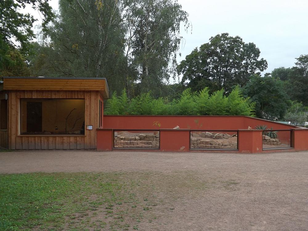 Erdmännchenanlage (Tiergarten Bernburg)