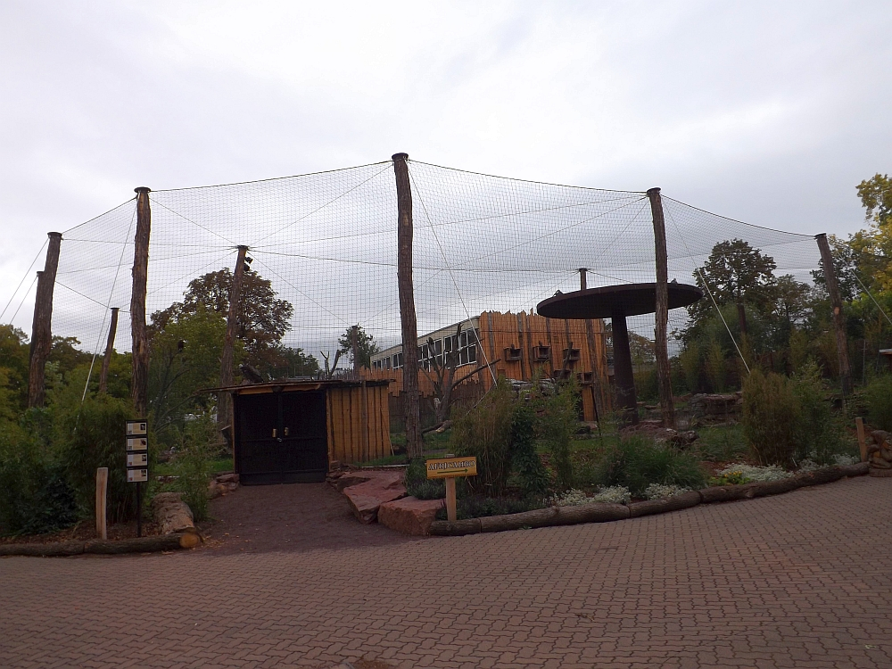 Geiervoliere (Zoo Magdeburg)