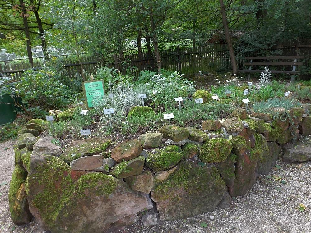 Kräutergarten (Wildpark Höllohe)