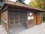 Kaninchen/Meerschweinchenverschlag (Tierpark Hirschfeld)