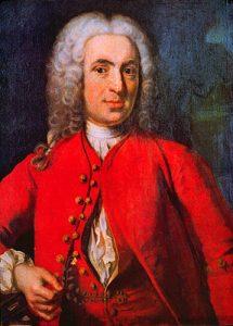 Carl von Linné (Johan Henric Scheffel)
