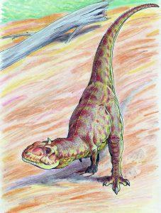 Majungasaurus crenatssimus (Dmitry Bogdanov)