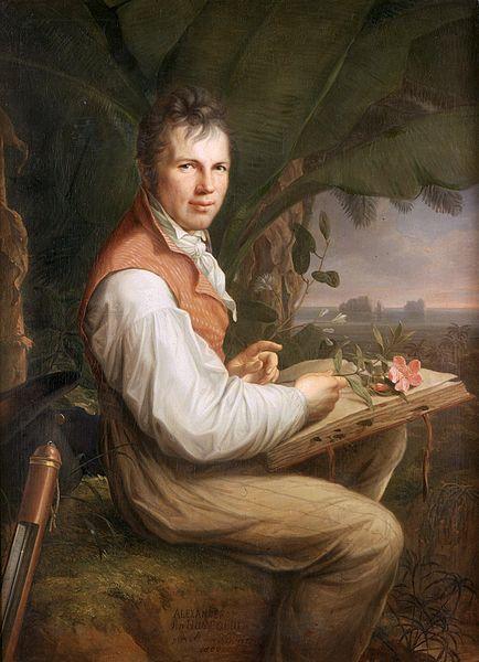Alexander von Humboldt, Gemälde von Friedrich Georg Weitsch, 1806