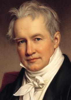 Alexander von Humboldt Gemälde von Joseph Stieler, 1843