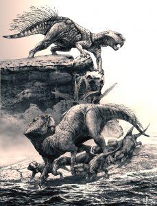 Psittacosaurus (Pavel Riha)