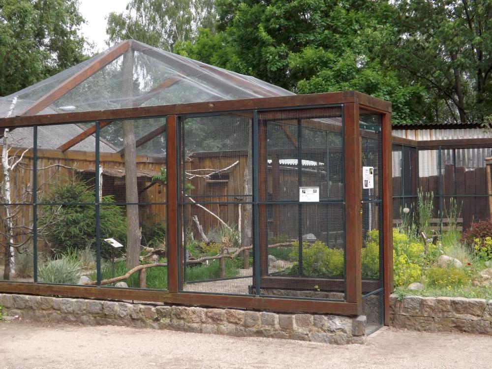 Sittichanlage (Tiergarten Delitzsch)