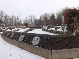 Der geologische Garten Hof