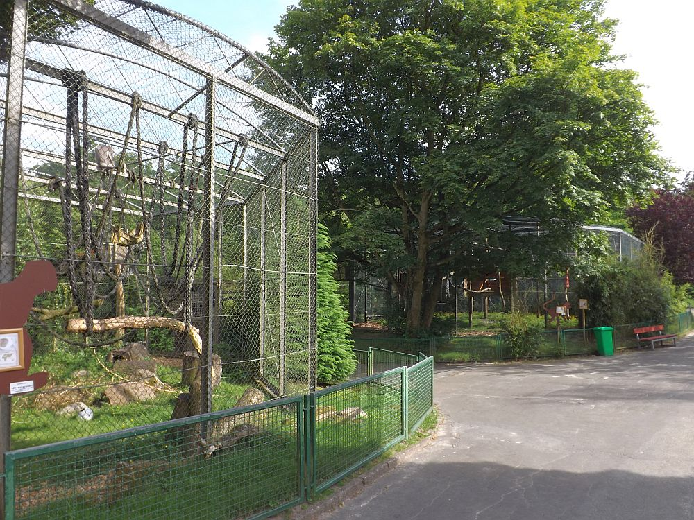 Affenanlage (Zoo in der Wingst)