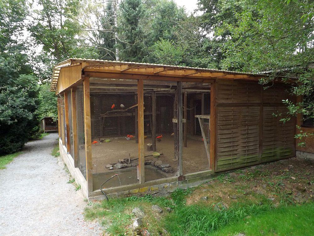 Sichlervoliere (Affen- und Vogelpark Eckenhagen)