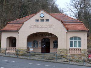 Bahnhof der Drahtseilbahn in Erdmannsdorf