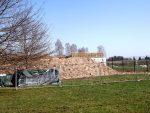 Baustelle Besucherplattform, Elchanlage (Wildpark Poing)