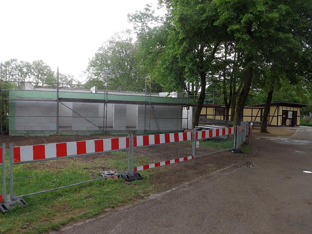Baustelle (Tiergarten Worms)