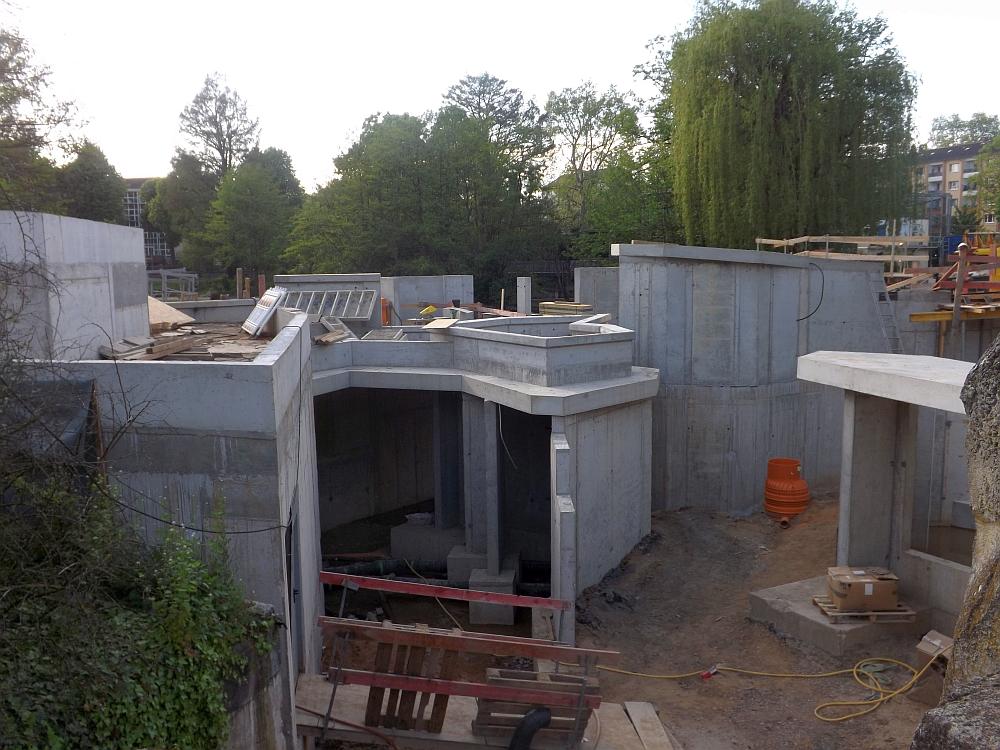 Baustelle Pinguinanlage (Zoo Frankfurt)