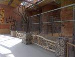Innenansicht Giraffenhaus (Zoo Augsburg)